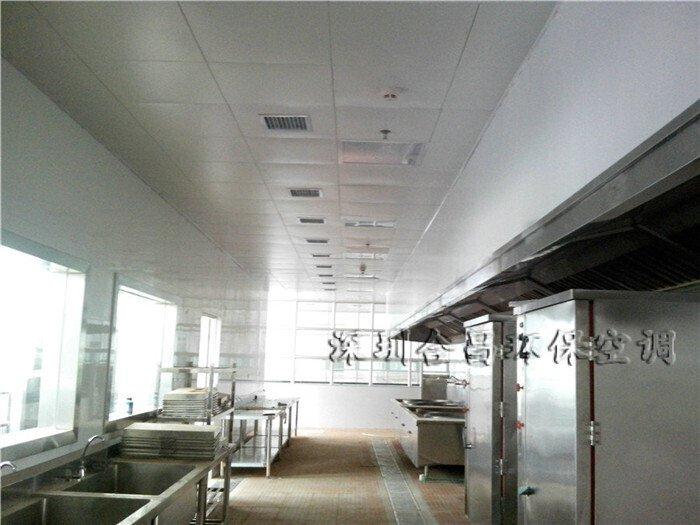 潤東方環保空調廚房降溫工程