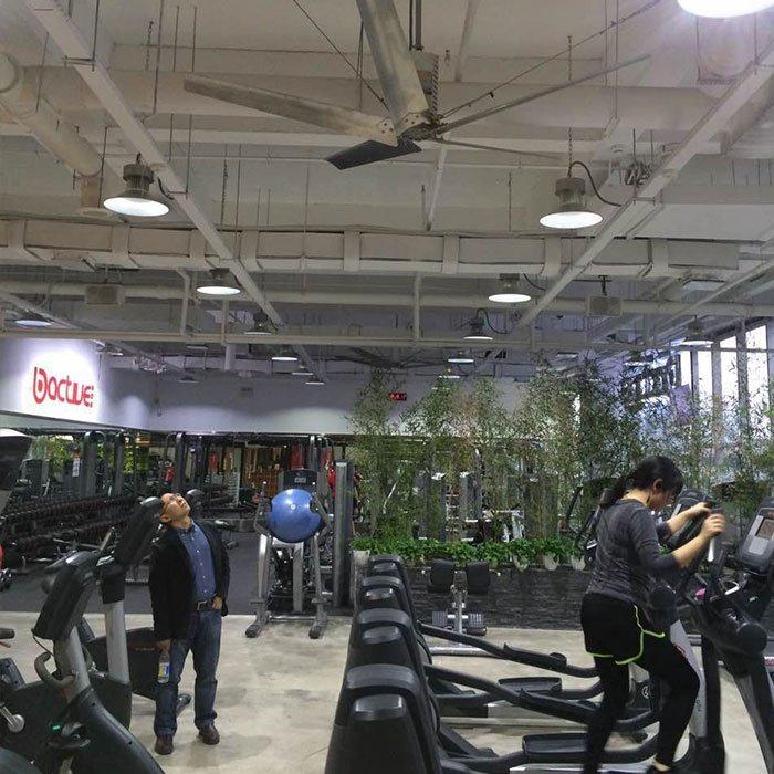 健身房降温解决方案